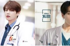 10 Potret andai personel BTS jadi dokter, karismatik abis