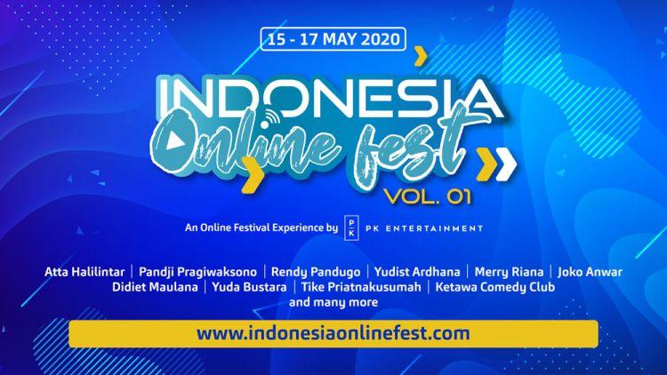 Indonesia Online Fest 2020 digelar Mei, simak jadwalnya