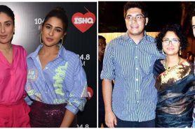 Momen 7 aktris Bollywood bareng anak tiri, kompak abis