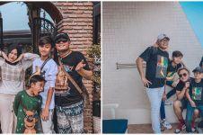 5 Momen keluarga Sule ulang pose di foto jadul, kocak dan kompak