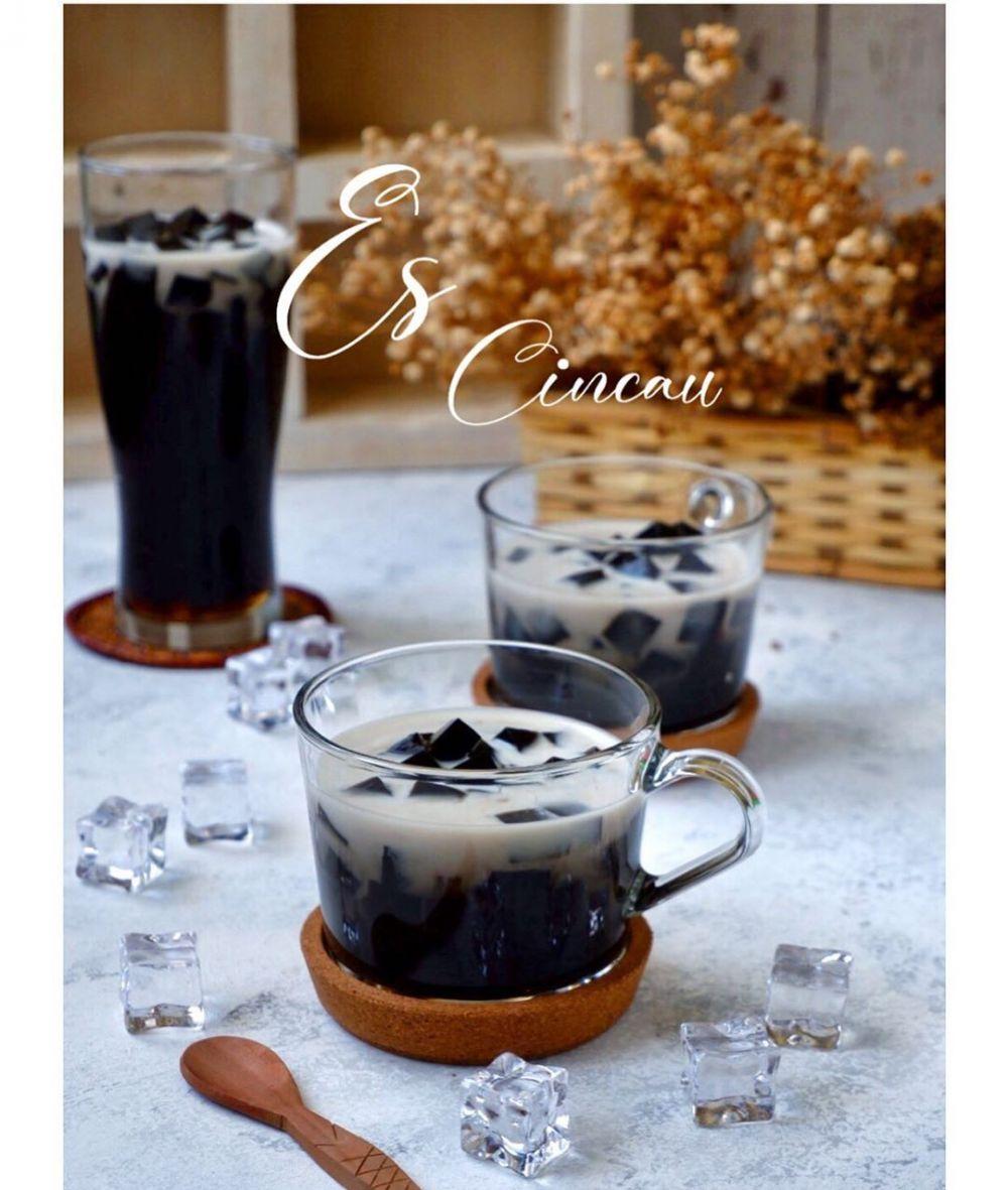 minuman dari santan berbagai sumber
