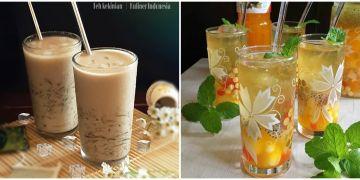 10 Kreasi minuman es teh, segar, & mudah dibuat untuk buka puasa