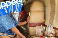 Miliarder ini naik jet pribadi cuma untuk beli kue