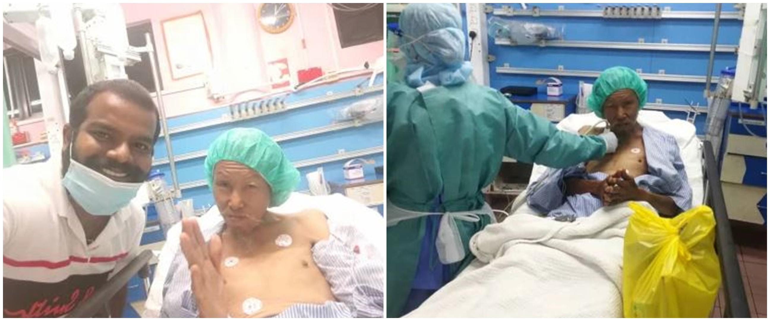 Kisah driver ojek online tolong kakek yang terluka ini bikin salut