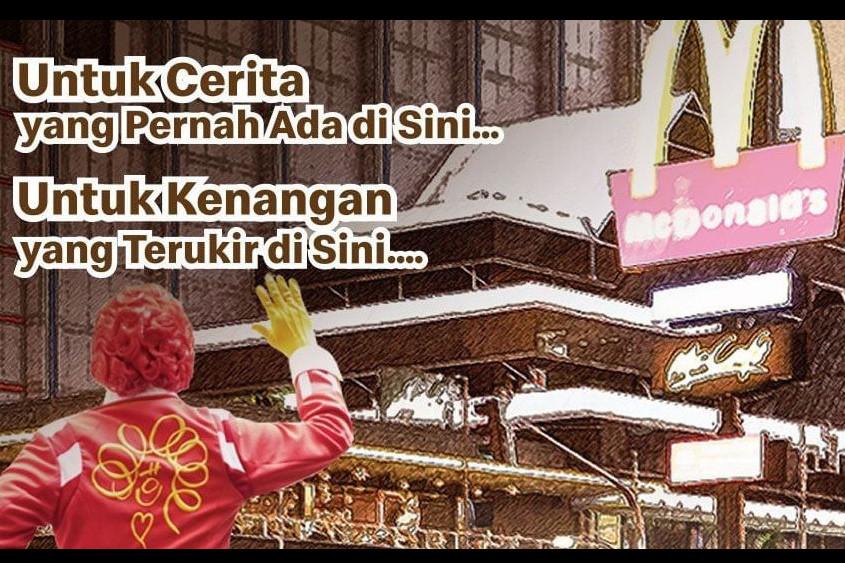 Langgar PSBB, penutupan McDonald's Sarinah berbuntut denda Rp 10 juta