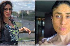 6 Aktivitas Kareena Kapoor saat di rumah aja, bikin masker sendiri