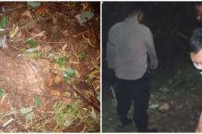 Heboh warga Bekasi injak kerangka manusia saat cari burung