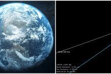 Jelang Idul Fitri akan ada asteroid cukup besar dekati bumi