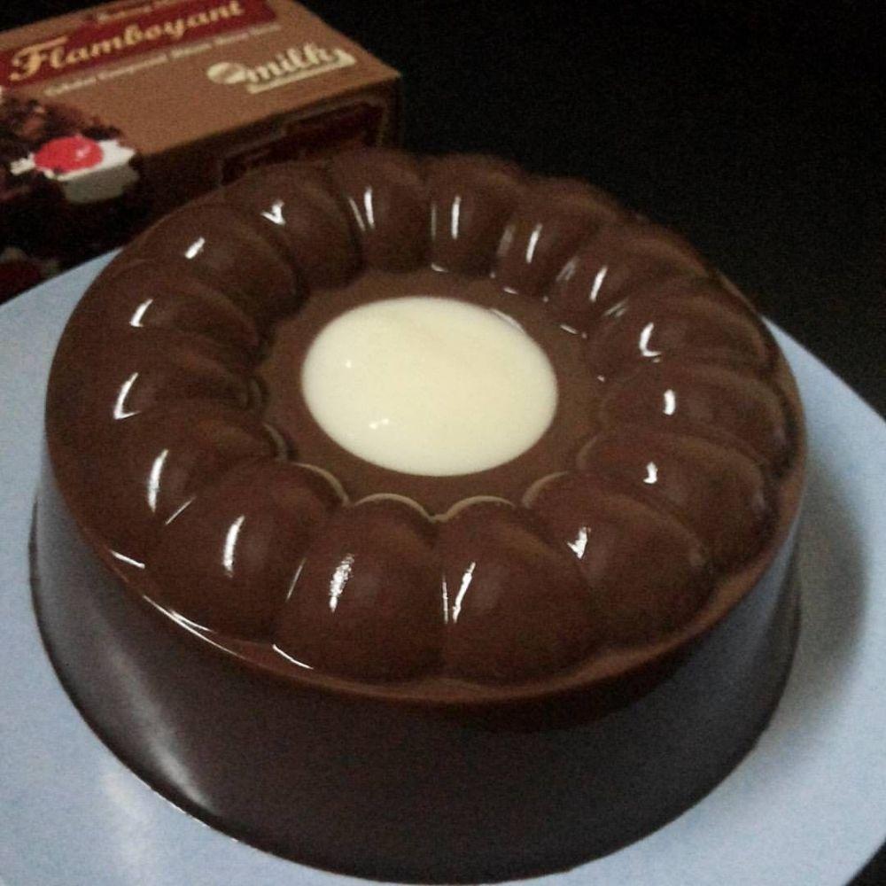 resep agar-agar cokelat instagram