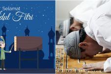 Keutamaan sholat Idul Fitri beserta hukum melaksanakannya