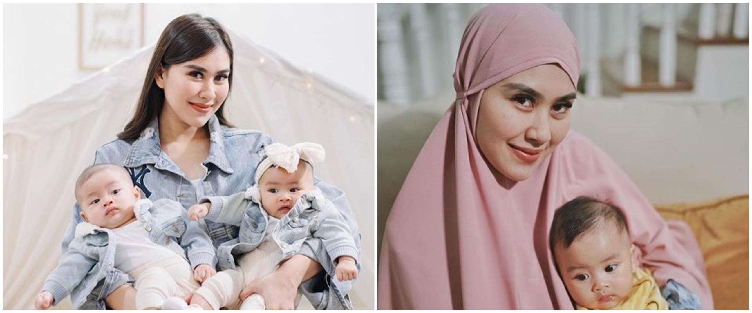 7 Pesona Syahnaz Sadiqah kenakan hijab, meneduhkan