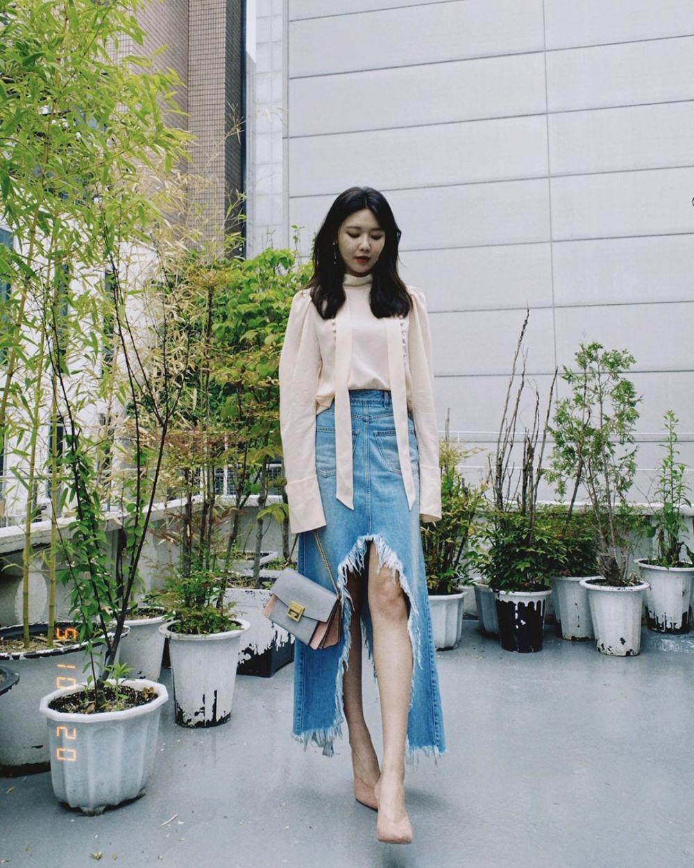 seleb korea tinggi semampai Instagram