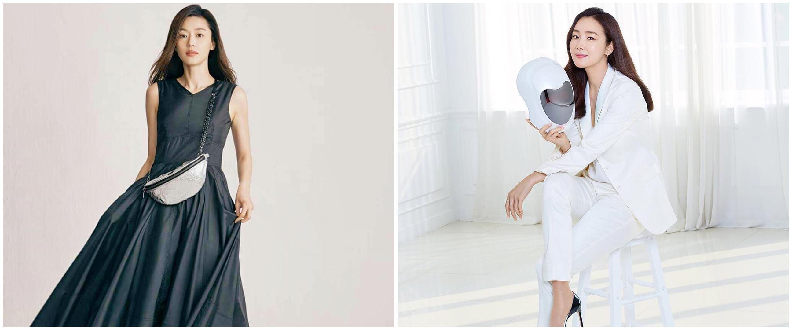 7 Aktris Korea ini punya tubuh tinggi semampai, bak model