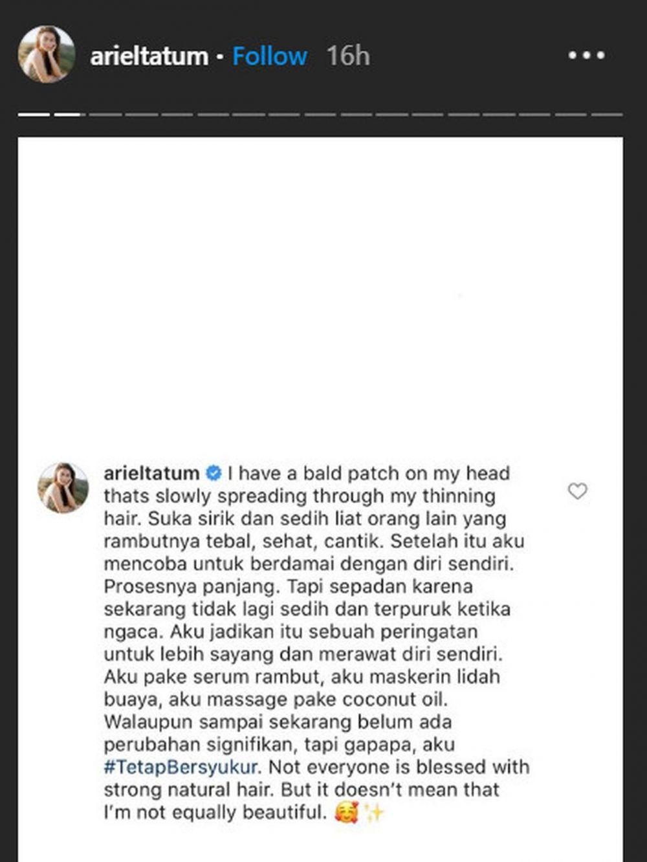 ariel tatum Instagram