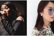 8 Potret penampilan baru Dara The Virgin, gaya rambut curi perhatian