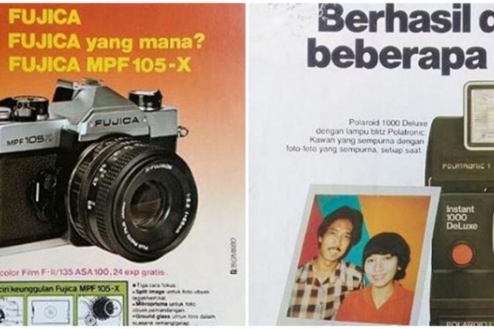 10 Iklan jadul kamera era 80-an ini ikonik abis