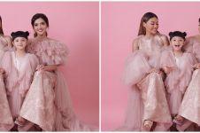 6 Momen seru Ashanty dan Aurel Hermansyah coba baju Lebaran