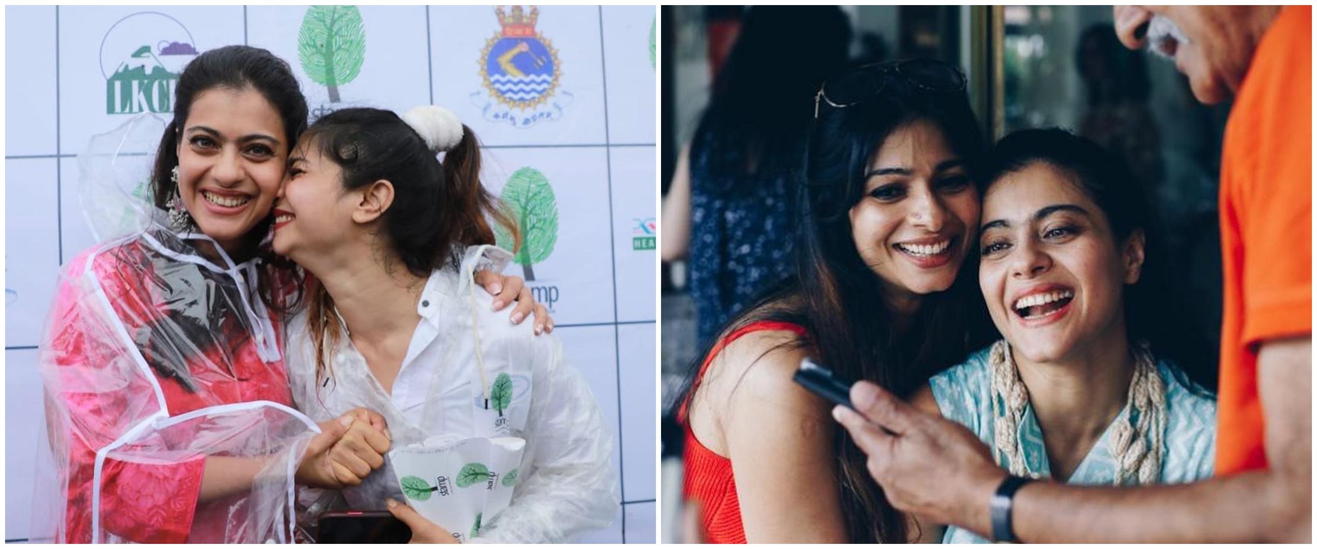 10 Potret kompak Kajol dan Tanishaa Mukerji, sibling goals