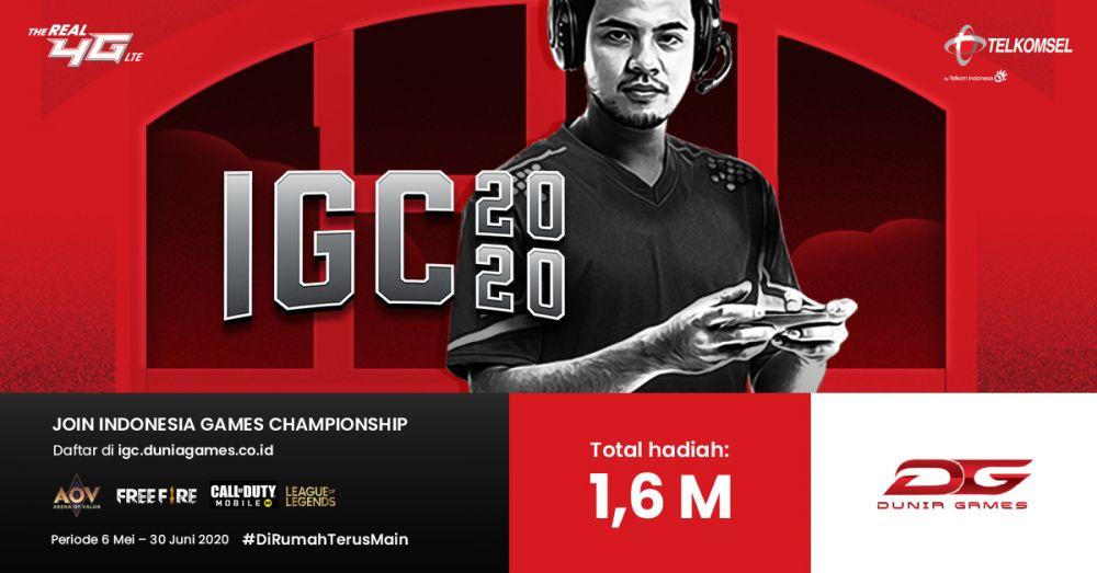 Indonesia Games Championship (IGC) 2020 Telkomsel berbagai sumber