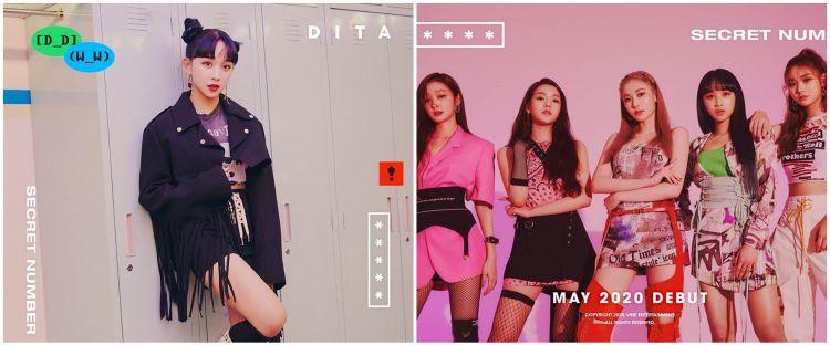 10 Potret debut Dita Karang, gadis Indonesia yang jadi Idol K-pop