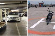 10 Momen lucu salah tempat parkir ini bikin pengen ketawa