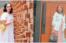 10 Momen Ussy Sulistyawati belanja sembako saat hamil besar