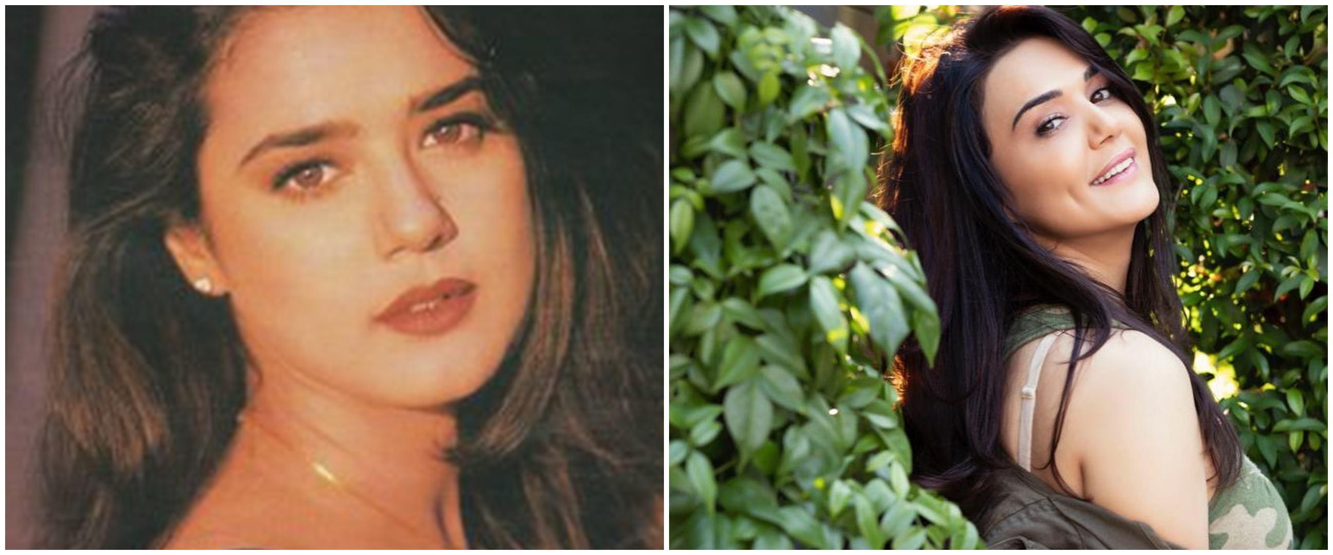 Lama berkarier di Bollywood, ini 10 transformasi Preity Zinta