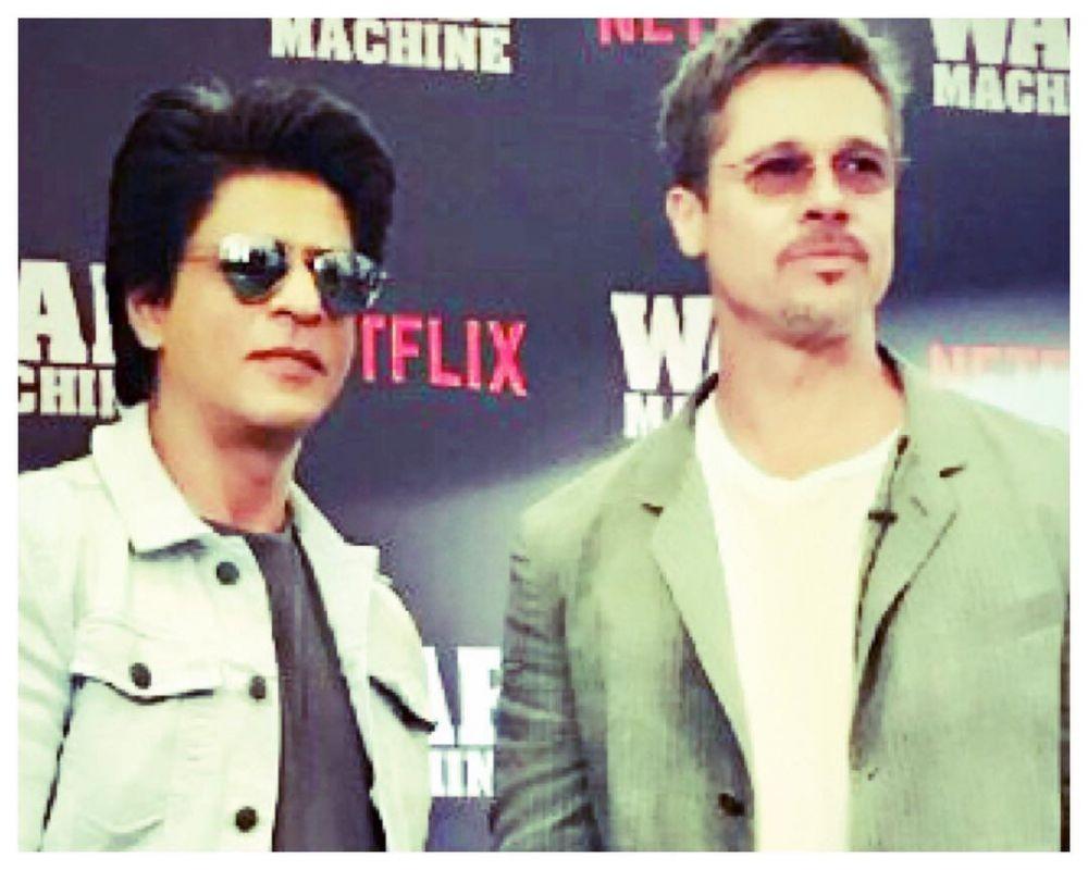 Shah Rukh Khan bareng seleb dunia berbagai sumber