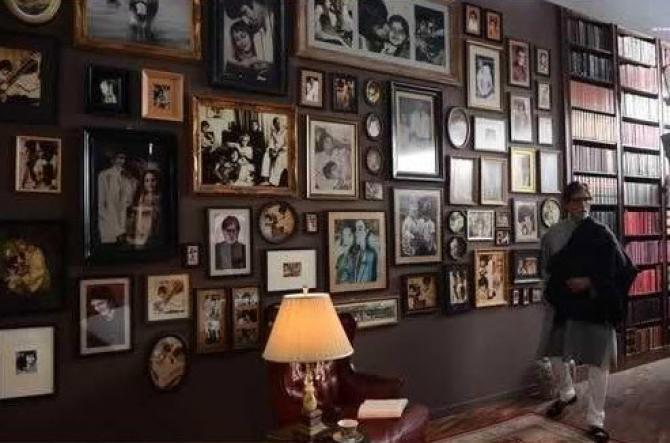 Penampakan rumah mewah Amitabh Bachchan Istimewa