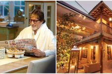 13 Penampakan rumah mewah Amitabh Bachchan, bergaya modern klasik