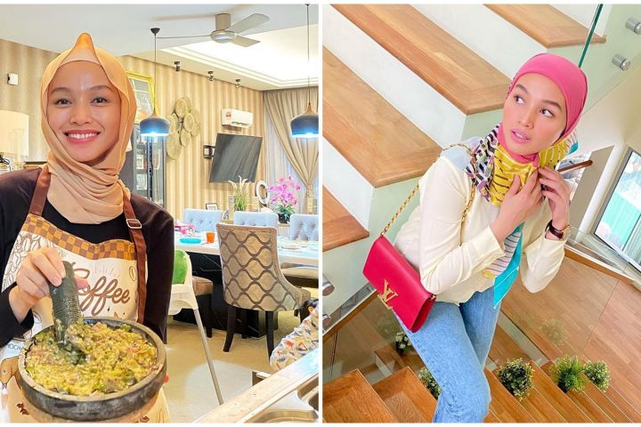 10 Potret rumah Tya Arifin di Malaysia, menantu Siti Nurhaliza