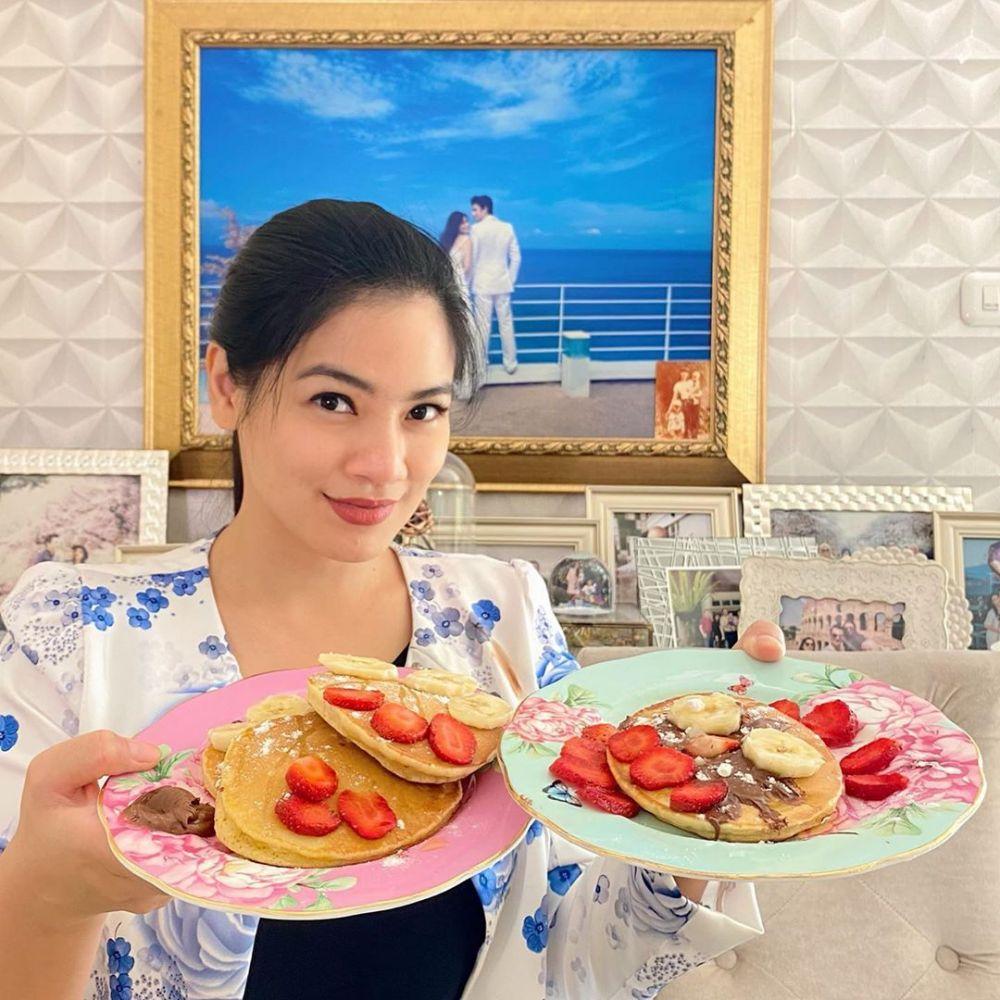 titi kamal masak di rumah © 2020 brilio.net