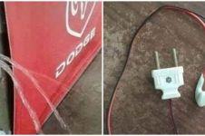 10 Karya lucu tukang listrik abal-abal ini bikin ngakak