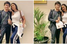 Momen Kalina Oktarani bertemu Azka lewat jendela mobil, cegah corona
