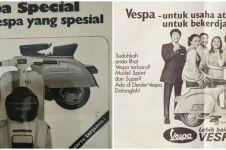 10 Penampakan lawas iklan Vespa, bikin nostalgia masa lalu