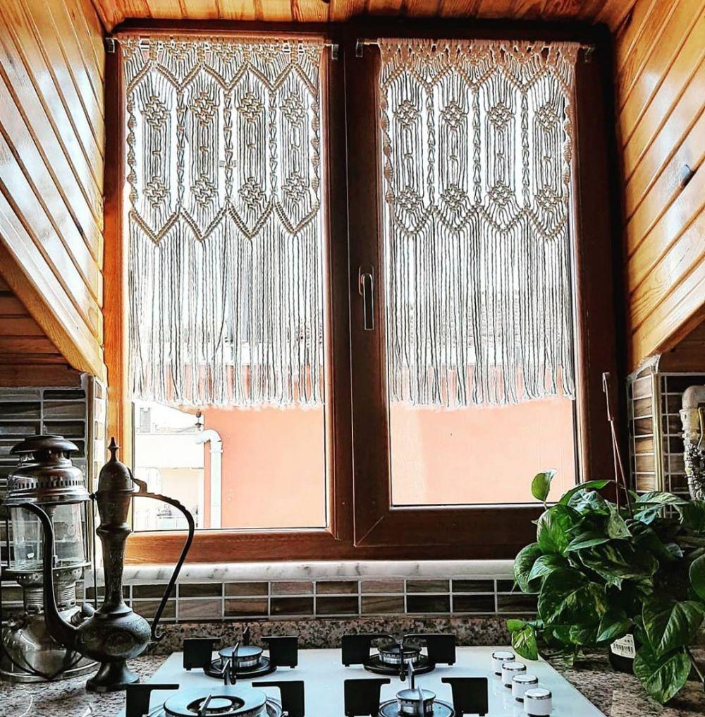 Dekorasi rumah dari kerajinan Macrame © 2020 brilio.net
