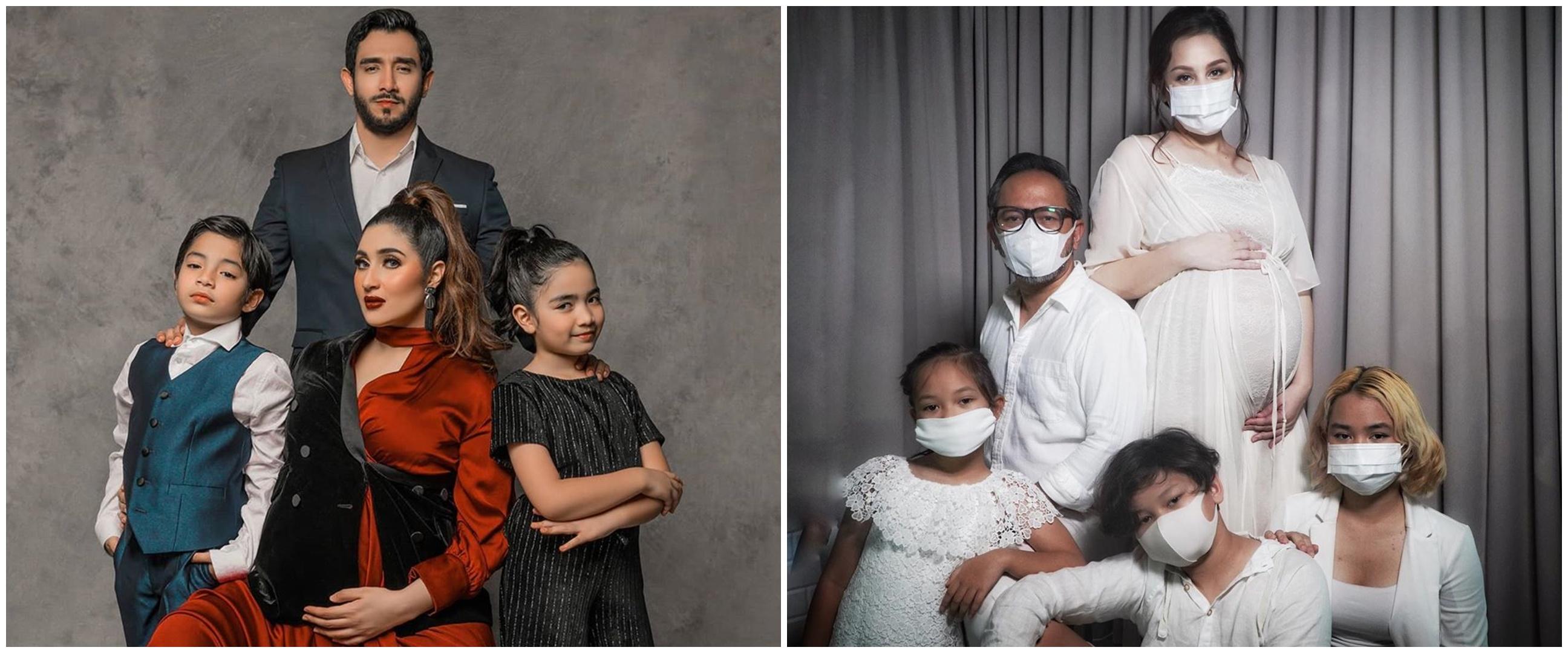 Gaya pemotretan maternity 10 seleb & keluarga kecilnya, kompak abis