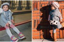 Masih balita, 10 gaya Nastusha Olivia Alinskie ini stylish