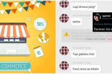 10 Chat lucu pacaran di e-commerce ini bikin tepuk jidat