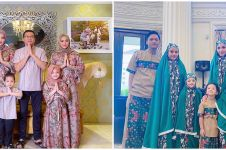 9 Momen Lebaran keluarga Anang-Ashanty, kompak abis