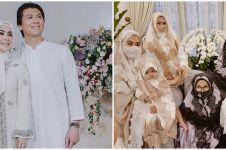 7 Potret gaya keluarga Syahrini rayakan Lebaran, kompak pakai masker