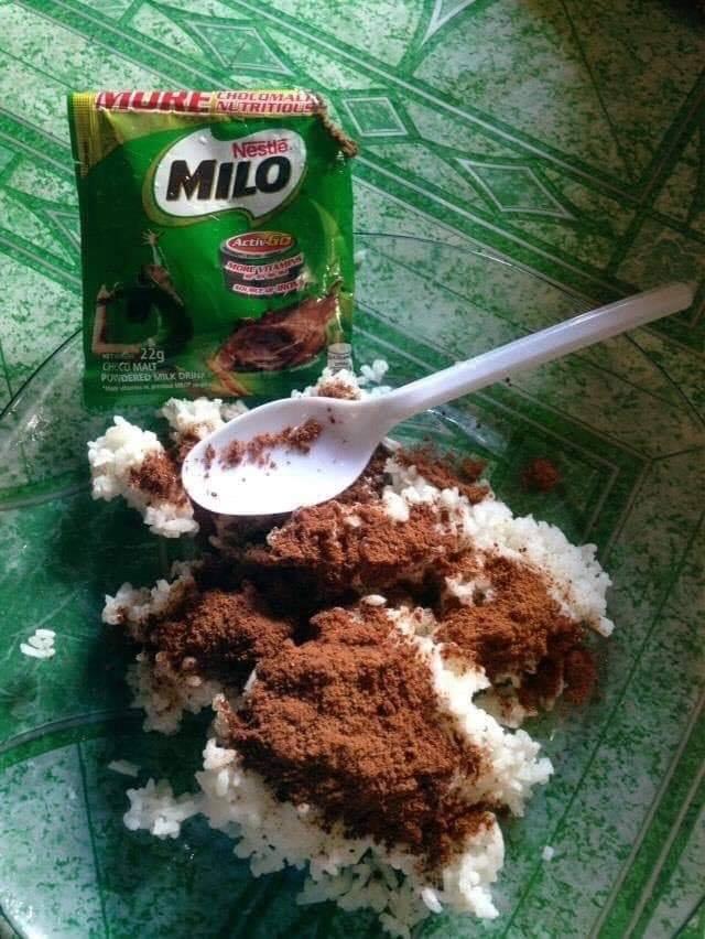 Makanan campur coklat bikin geleng-geleng kepala Berbagai sumber