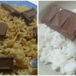 10 Makanan dicampur cokelat ini absurd pol, kamu doyan nggak?