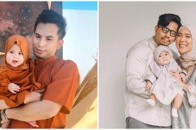 8 Potret bayi seleb kenakan hijab saat Lebaran, gemesin abis