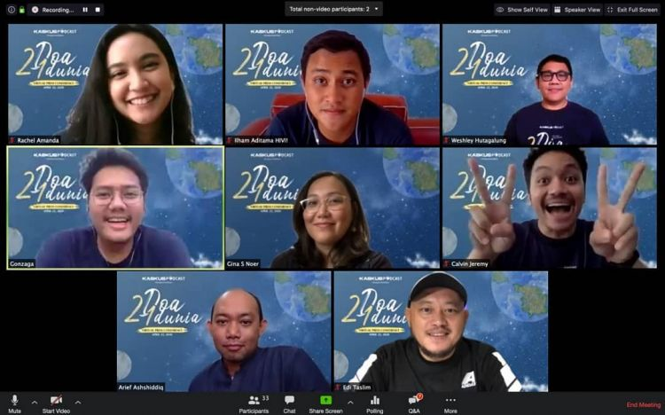 2 Doa 1 Dunia, serial drama podcast tentang perbedaan