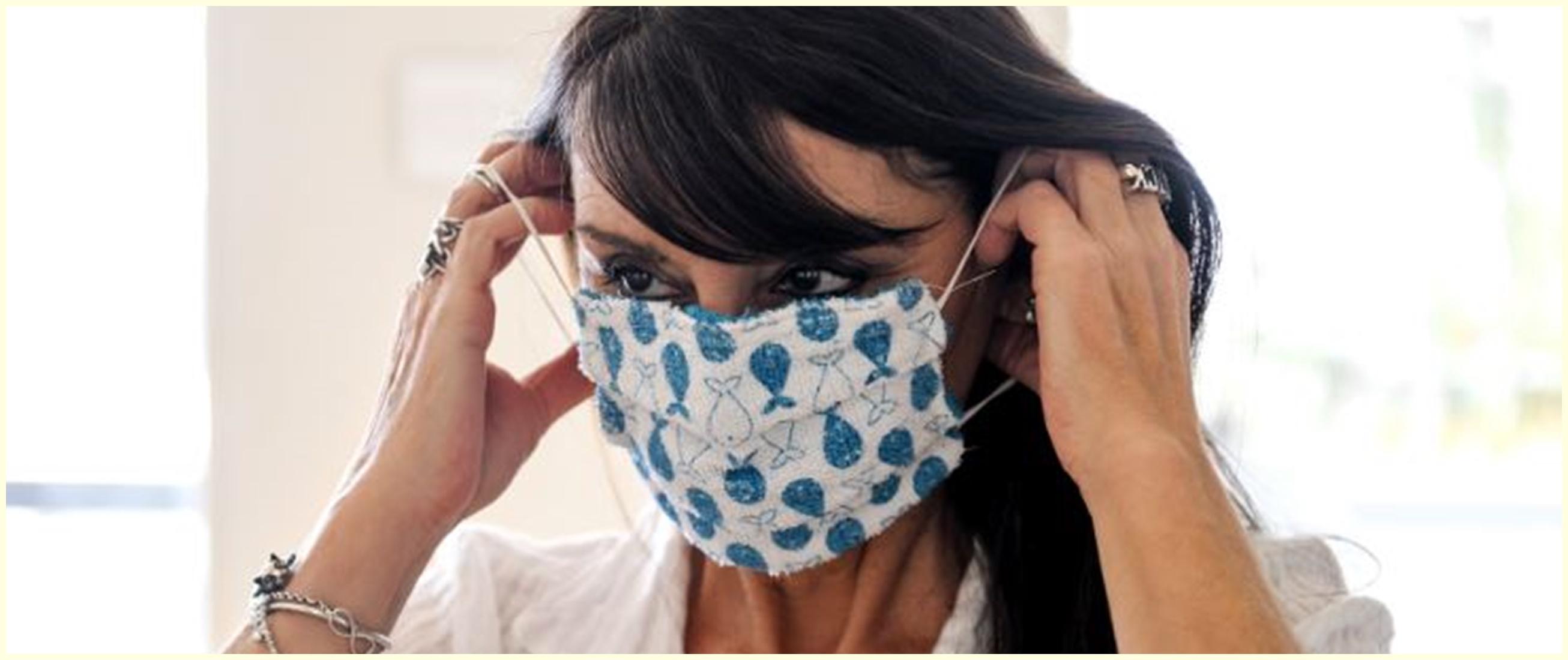 Viral eksperimen masker kain cegah corona, hasilnya mengejutkan