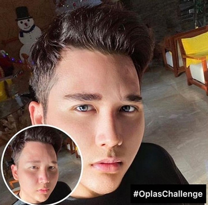 seleb pria ikut Oplas Challenge © 2020 instagram.com