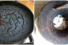 10 Potret kue bolu gagal ini bukannya berselera malah bikin ngakak