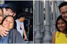 8 Potret kedekatan anak Titi Rajo Bintang dengan ayah barunya