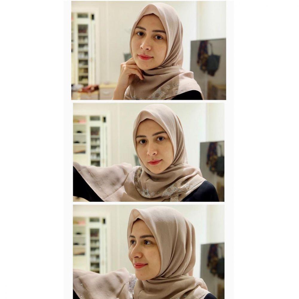 Rina Diana kenakan hijab © 2020 Instagram @rinadiana_8